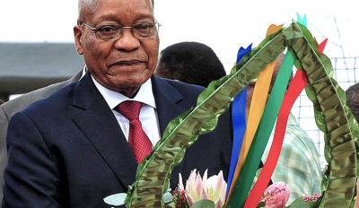 "Zuma: ""Dis alles wittes se skuld"""